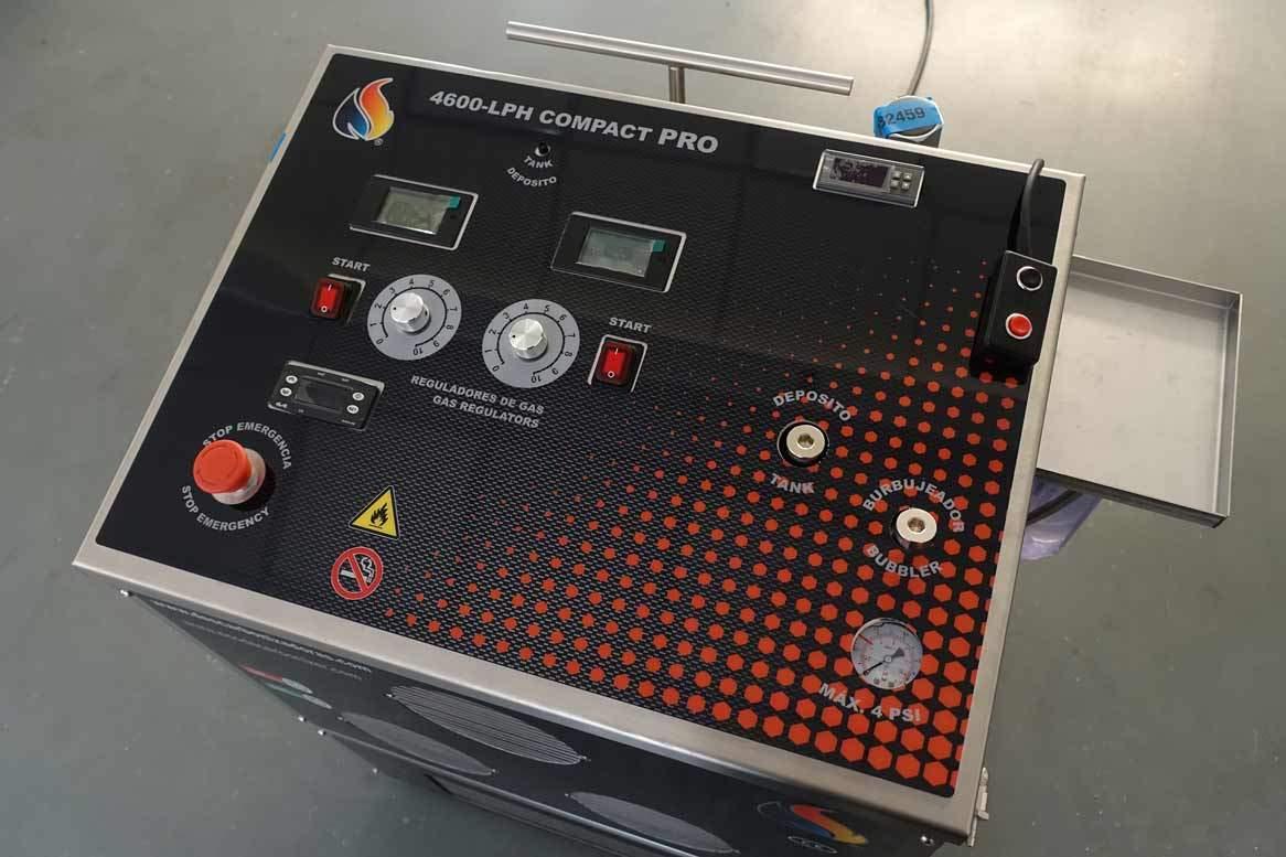wasserstoff-motorreinigung